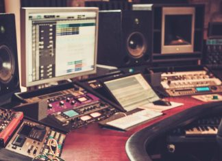 The evolution of music production through time